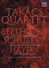 Takács Quartet / Schubert: Death And The Maiden [DVD]