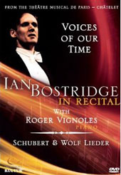 Ian Bostridge in Recital - Schubert & Wolf Lieder / Bostridge, Vignoles [DVD]
